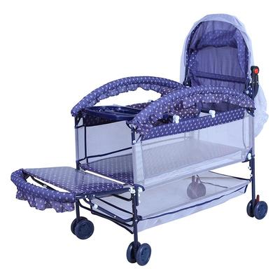 Multi functional metal bed top rated cribs with mosquito net #CMC9219