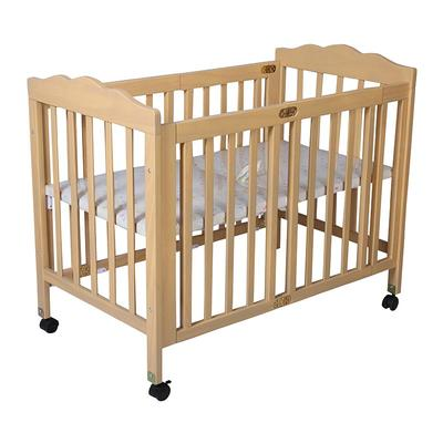 Multi functional vintage baby bed solid wood baby bed #CWC5460